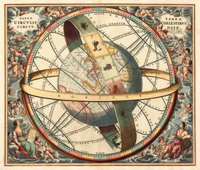 FototapetaAstronomical chart vintage