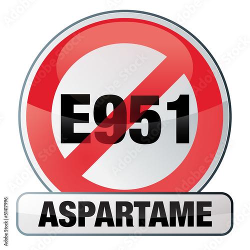 sans E 951, sans aspartame Wallpaper Mural