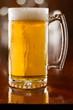 cold beer in a mug