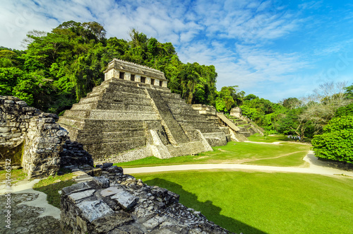 Photo sur Aluminium Mexique Temples in Palenque