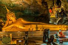 Reclining Buddha Suwankuha Temple Phuket Thailand