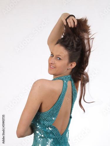 Obraz piękna dziewczyna - fototapety do salonu