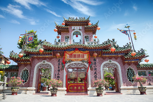 Fotografie, Obraz  Cantonese assembly hall Hoi An