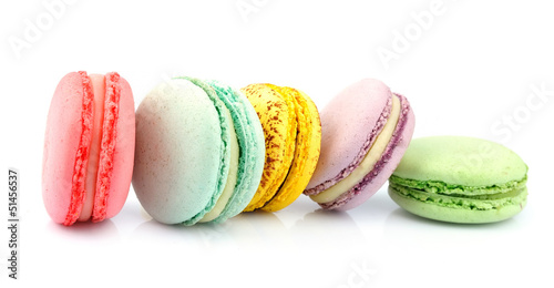 Poster Macarons French macaroons