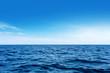 canvas print picture - Blue sea