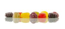 Fruit Pastille Gumdrops, Refle...