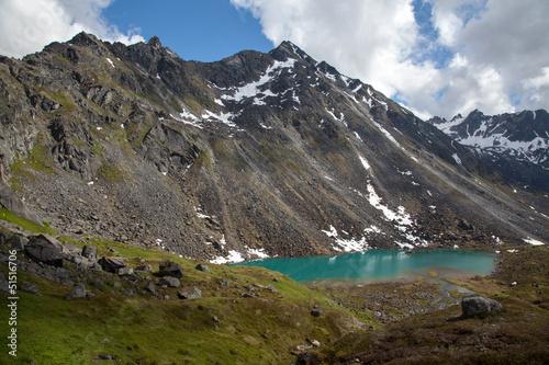 Fotografie, Obraz  Alpine Lake