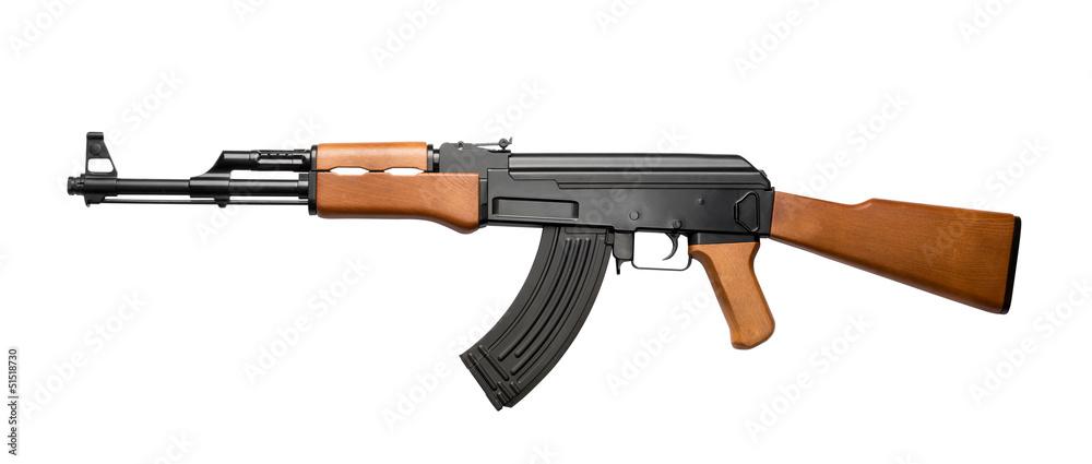 Fototapeta Assault rifle AK-47