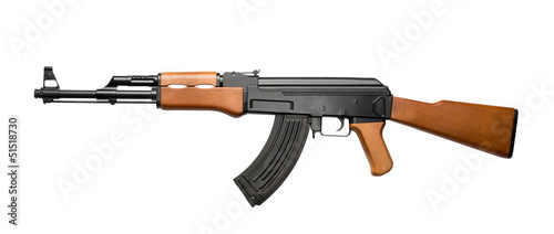 Assault rifle AK-47 Canvas Print