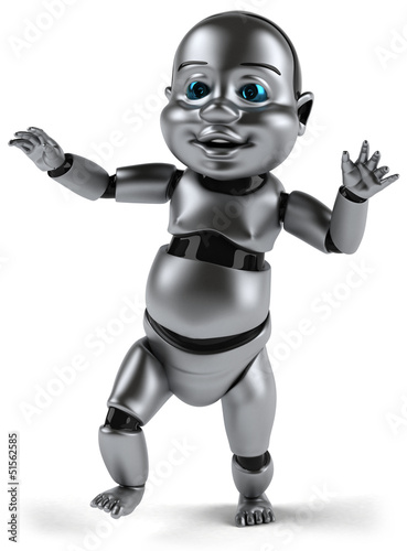 Canvas Prints Robots Baby robot