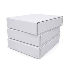Three Closed White Box