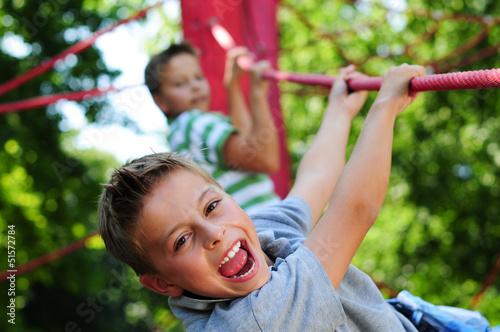 Fotografie, Obraz  Kinder aktiv