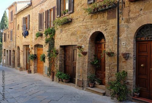 italian old  street . Tuscany