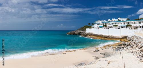 Foto op Aluminium Palermo Cupecoy beach on St Martin Caribbean