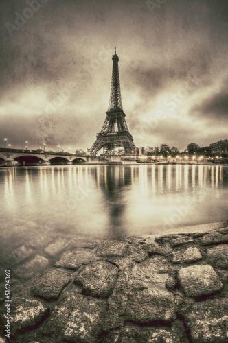 rocznika-widok-paryz-francja
