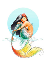 Mermaid Fairy-tale Character I...
