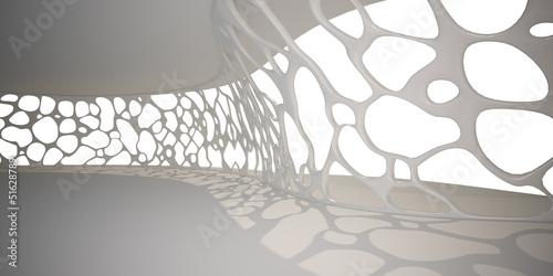fototapeta na lodówkę Voronoi wall