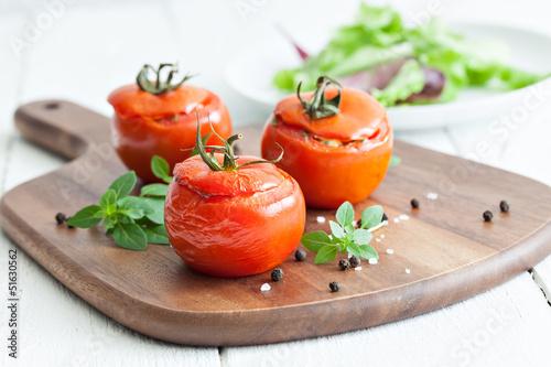 Fototapeta gefüllte Tomaten obraz