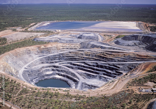 Fotografie, Obraz  Uranium mine