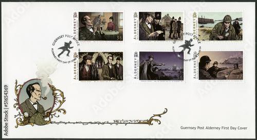 Fotografía  ALDERNEY - 2009: shows Sherlock Holmes