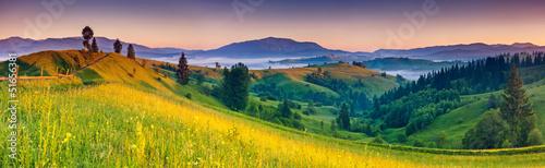 Fotobehang Landschap mountains landscape