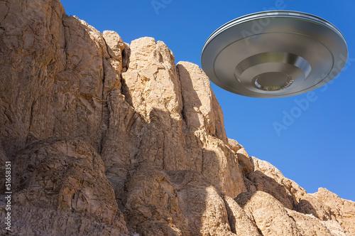 Deurstickers UFO ufo
