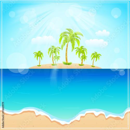 Foto op Aluminium Blauw Travel background