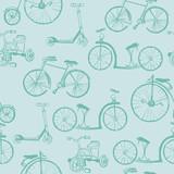 Dziecko rower tło - dla projektu i notatnik - w wektorze - 51662544