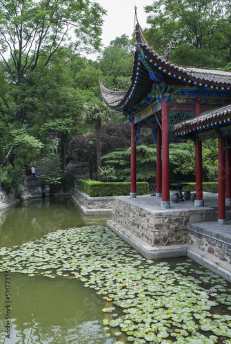 Foto op Plexiglas Xian chinese landscape architecture