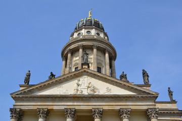 Fototapeta na wymiar Franzoesischer Dom in Berlin