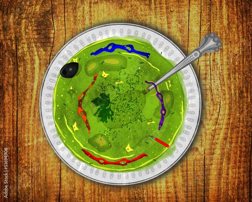 Fotografie, Obraz  Turtle Soup