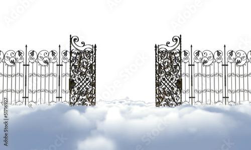 Fotomural heaven gate