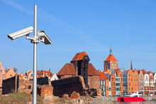 Industrial Monitoring Cctv - Protection Of Historical Monuments