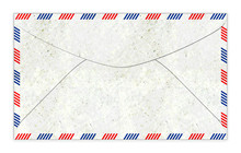 Old Fashioned Air Mail Envelope Illustration