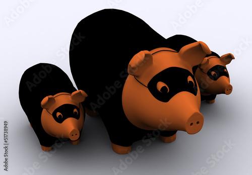 Räuberschweine Poster