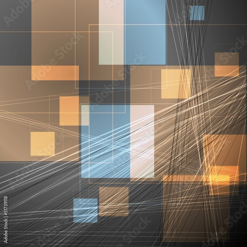 Abstract concept vector template - 51739118