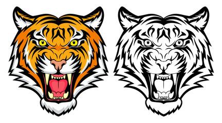 Fototapeta Tiger anger