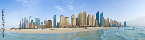 Canvas Marina Beach - Panorama (Dubai)