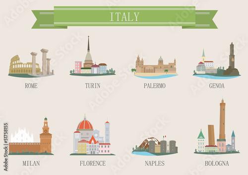 Photo  City symbol. Italy