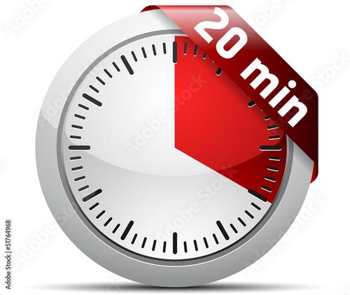 Fotografía  20 Minutes timer