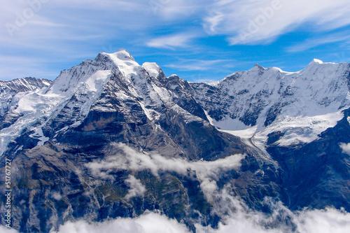 Foto auf Gartenposter Gebirge Alpen
