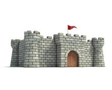 Fort 3d Illustration
