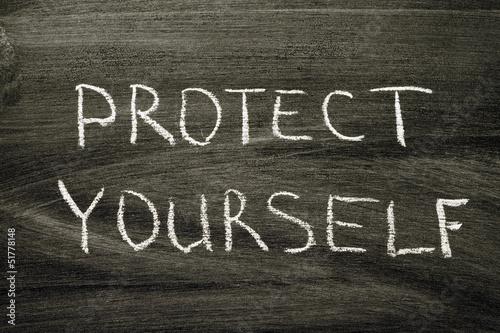 Fotografia  protect yourself