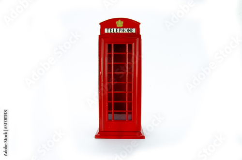 Cabina telefonica de Londres