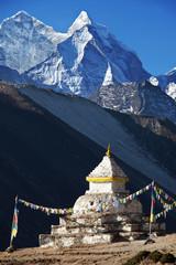 Stupa in Himalaya