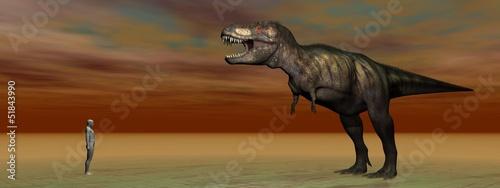 Fotografie, Tablou  dino Tyrannosaurus