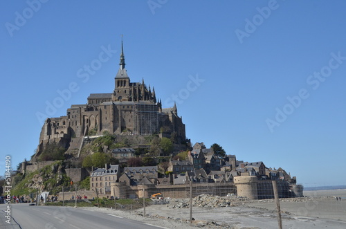 Photo  The Mont Saint Michel Abbey