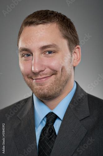 Valokuva  Caucasian Man Smiling Happiness Portrtait