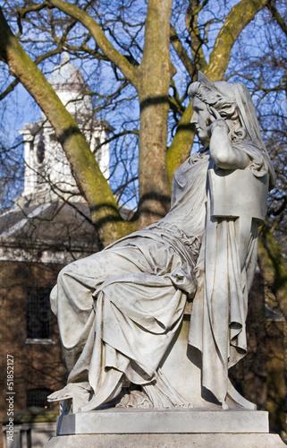 Sarah Siddons Statue on Paddington Green Fototapet
