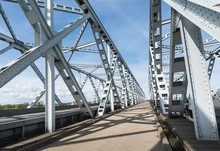 View At Dutch Truss Bridges